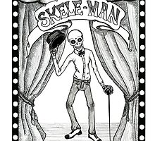 The Astounding Skele-Man by BettyRocksteady