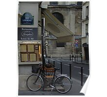 Paris Still Life Poster