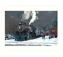 Steam Locomotive 425 Art Print