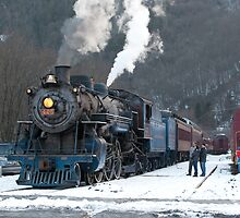 Steam Locomotive 425 by Mark Van Scyoc