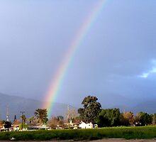 Rainbow Over Mentone by Kismet