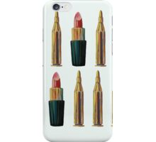 Lipsticks and Bullets iPhone Case/Skin