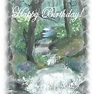 forest stream fantasy  by francelle  huffman