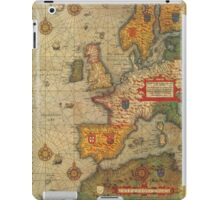 Europe Map 1584 iPad Case/Skin