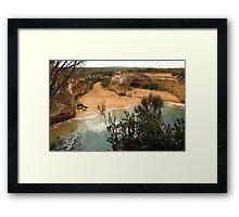 Loch Ard Gorge Framed Print