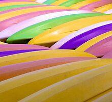 Kayaks by njordphoto
