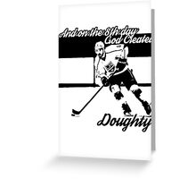 On the 8th Day - God Created Doughty Opt. 1 Greeting Card