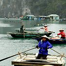 The Woman Of Ha Long Bay by hans p olsen