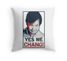 Yes We Chang! Throw Pillow