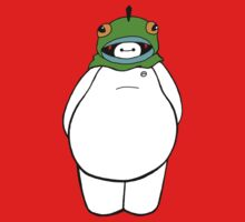 Baymax in Fred's Costume by TheEnterTayner