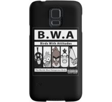 Birds With Attitudes Samsung Galaxy Case/Skin