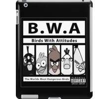 Birds With Attitudes iPad Case/Skin