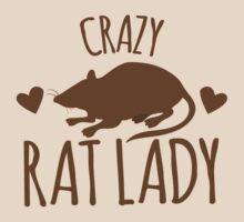 CRAZY RAT LADY by jazzydevil