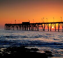 Catherine Hill Bay Jetty by Bryan Cossart