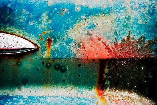 Junkyard Door  by David Librach - DL Photography -