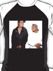 A$AP Rocky and Kendrick Lamar Vintage Style T-Shirt