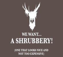 Bring Us A Shrubbery by FIRE DRAKE productions.