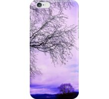 In Touch purple tree iPhone Case/Skin