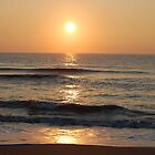 Sunrise on the Ocean by Nancy