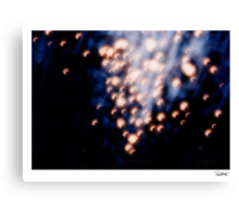 """'Bubbles' from the series """"The Abyss"""" Canvas Print"""