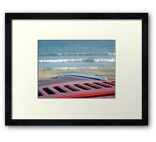Beetle Bonnet Framed Print