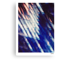 """'Refraction' from the series """"The Abyss"""" Canvas Print"""