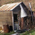 Old Blacksmith Shed by charmaine