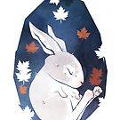 Sleepy Bunny by bendrawslife