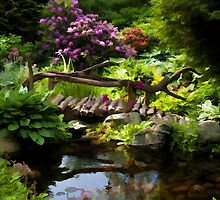Beautiful perfect garden landscape by ronyzmbow