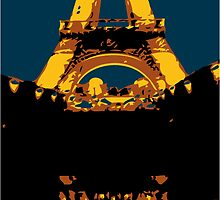 eifel tower by micheria