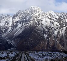 The track to Tasman Glacier, Mt Cook, New Zealand by Geoff46