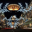 Christmas in London by Ludwig Wagner