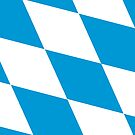 Bavarian flag by stuwdamdorp