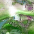 Green+Blue by Benedikt Amrhein