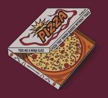 Ninja Pizza - Attitude by BanzaiDesigns