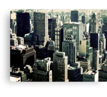 NYC Blocks Canvas Print