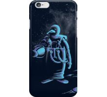 Penguin in space iPhone Case/Skin