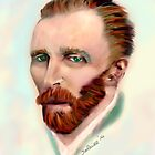 Vincent van Gogh by saleire