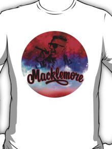 Macklemore Galaxy Stencil T-Shirt