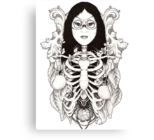 Arachne - Spider Woman Canvas Print