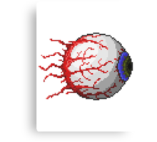 Terraria Eye of Cthulhu Canvas Print