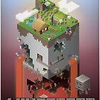 Minecraft - world of blocks by NikkiCreates