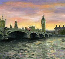 Westminster bridge by Mariana Po