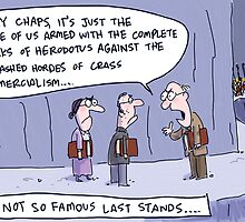 Famous last words... by Jon Kudelka