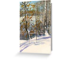 Snow fell Greeting Card