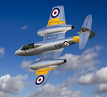 Gloster Meteor Jet Trainer by Colin Smedley