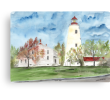 Sandy Hook Lighthouse Canvas Print