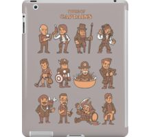 Types of captains iPad Case/Skin