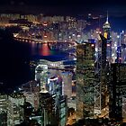 Hong Kong Skyline by Chris Putnam