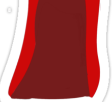 The Cape As Red As Blood Sticker